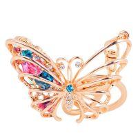 Butterfly Keychain - studded with Rhinestone