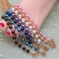 Anklet beads ankle and toe