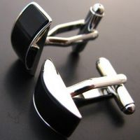 Luxury Cufflinks - shaped crescent