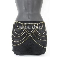 Waist chains gold plated