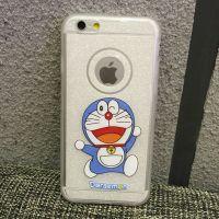 Cover iPhone 6 transparent plastic forms cartoon Doraemon Nice