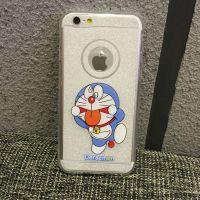 Cover iPhone 6 Plus transparent plastic forms cartoon Doraemon