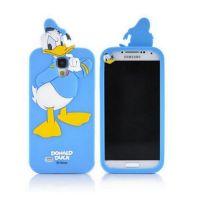 Cover Galaxy S4 plastic rubber ducks