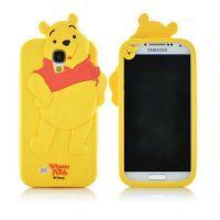 Cover Galaxy S4 plastic rubber bear Winnie