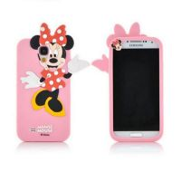 Cover Galaxy S4 plastic rubber Minnie Mouse