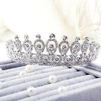 The bride brilliant crown - studded with crystals