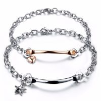 Bracelets lovers - from the stainless steel