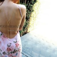 Body accessories - double sides necklace