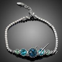 Azora bracelets studded with Austrian crystal 5 pieces