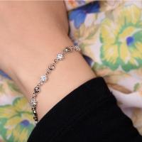 Bracelet stylish - silver plated