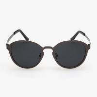 Metal Round Sunglasses For Men (Gun)