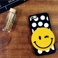 Cover  Iphone 6 Plastic Rubber Smile Wink