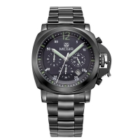 MEGIR Quartz Analog Luxury Men's watch (Stainless Steel)