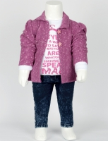 Sete kids jacket and trousers