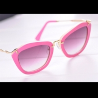 Cat Eye Sunglasses luxury For Women (Pink)