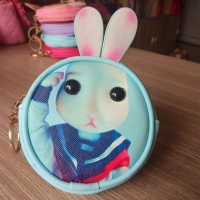 Medal and a small purse for girls - Rabbit thinks