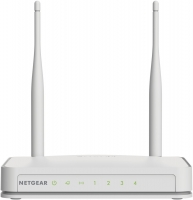 NETGEAR N300 Wi-Fi Router with High Power 5dBi External Antennas