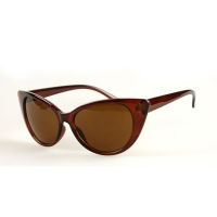 Butterfly Style Fashion Sunglasses For Women (Brown)