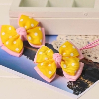 Hair accessories yellow