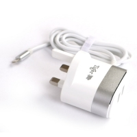 Charger socket for iphone 1 m with 2 ports USB 3.1A Tiger