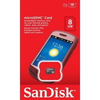 Memory card SanDisk original 8 GB