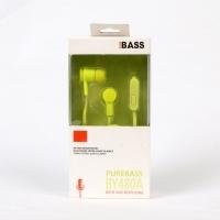 Earphones distinctive pure voice BUREBASS BY480A