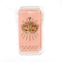 Cover Samsung Galaxy J7 prime transparent plastic