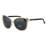 Cat eye Style sunglasses For Women (Black Gold)