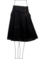 Women's short skirt beautiful stylish design