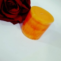 Candles scented perfume orange Shape cylindrical