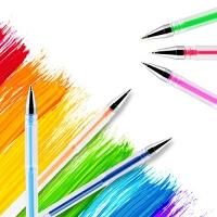 12 color dry pens