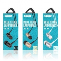 Earphone with microphone 3.5mm wired Celebrat G1