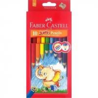 Jumbo Fever Castell colors 10 colors with intertwined