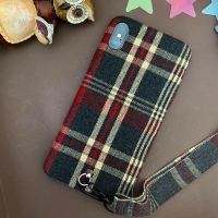 Cover Burberry with a Rope for IPHONE XR