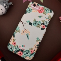 KUtis 2 in 1 Cover  plastic two pieces 360 for Iphone 7