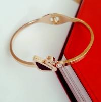 Bracelet goose - Rose gold plated