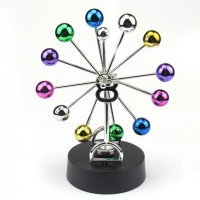 Pendulum Newton colored ball