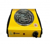 yellow hot plate