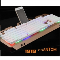 Gaming Keyboard and Mouse Wired USB LED - Adjustable Backlit