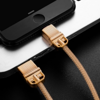 Metal cable for fast charging 2.4 amp for original iPhone