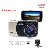 Camera for Cars Screen 4 inch  Front and Rear  Wide Angle Full HD 1080P