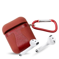 Leather case for Apple headphones AirPods