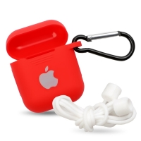 Silicon case for headphones Apple Airpods