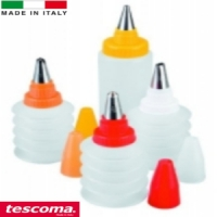 decorating bottles set 5pcs