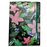 A 100-sheet notebook