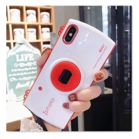 Plastic cover elegant shape for Iphone X