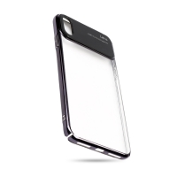 Cover Transparent plastic for iPhone XS/X FASHION