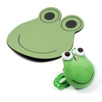 Frog usb mouse and pad set