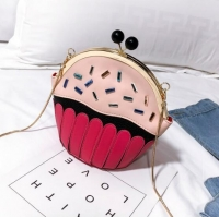 Women handbag shape cupcake