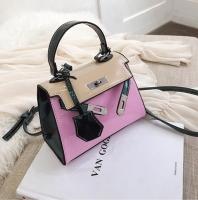 Women s handbag shiny leather